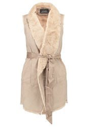 Only Onllayla Waistcoat Simply Taupe