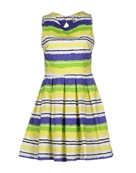 Aimo Richly Short Dresses Yellow