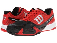 Wilson Rush Pro 2.0 Red Black Men's Tennis Shoes
