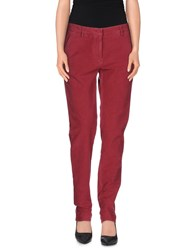 Incotex Trousers Casual Trousers Women Maroon