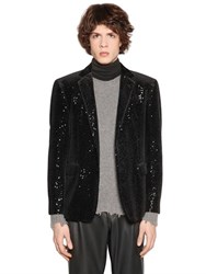 Etro Sequined Velvet Jacket