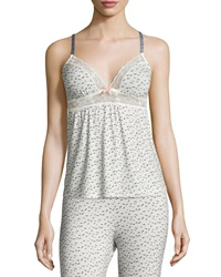 Eberjey Foxxy Printed Lace Trim Camisole Foxtail