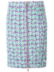 Boutique Moschino Houndstooth Skirt Multicolour