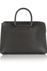 The Row Classic 5 Pebbled Leather Tote