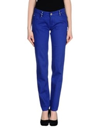 Roccobarocco Denim Pants Bright Blue