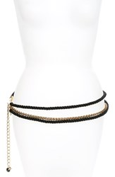 Kate Spade Women's New York Chain And Rope Belt