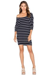 Candc California Carrie Dress Navy