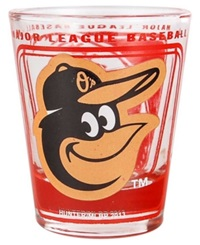 Hunter Manufacturing Baltimore Orioles 3D Collector Glass Team Color