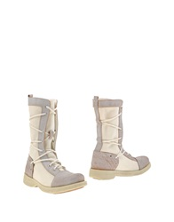 Cult Ankle Boots White