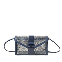 Christopher Kane Clear Lace Safety Bag