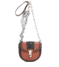 Altuzarra Ghianda Chain Leather Shoulder Bag Brown