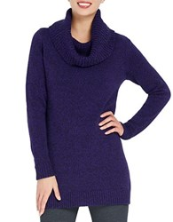 Ellen Tracy Cowlneck Tunic Sweater