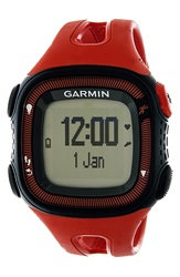 Garmin 'Forerunner 15' Fitness Watch 46Mm Red Black