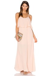 Pink Stitch Alexa Maxi Dress Blush