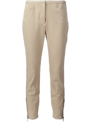 3.1 Phillip Lim Cropped Skinny Trousers Brown