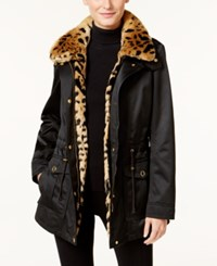 Inc International Concepts 3 In 1 Faux Fur Trim Anorak Jacket Only At Macy's Bronzed Camel
