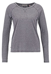 Pepe Jeans Tisha Long Sleeved Top Charcoal Anthracite