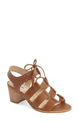Women's Dune London 'Ivanna' Lace Up Block Heel Sandal 2' Heel