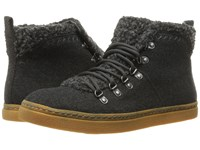 Rocket Dog Vancouver Charcoal Graham Women's Lace Up Casual Shoes Black