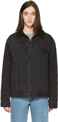 Earnest Sewn Black Denim Oversized Cecil Jacket