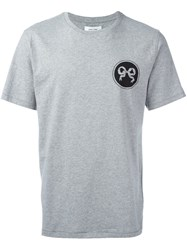 Soulland 'Ribbon' T Shirt Grey