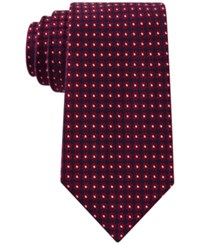 Club Room Men's Floral Neat Tie Only At Macy's Red