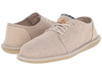 Sanuk Vista Natural Men's Lace Up Casual Shoes Beige