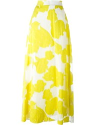 P.A.R.O.S.H. 'Paramore' Skirt Yellow And Orange