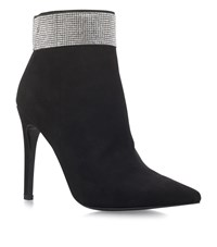 Carvela Kurt Geiger Gentry Embellished Ankle Boots Female Black