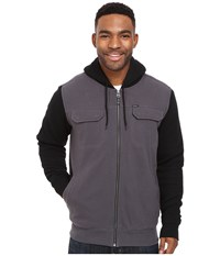 O'neill Shortrib Sherpa Hoodie Black Men's Sweatshirt