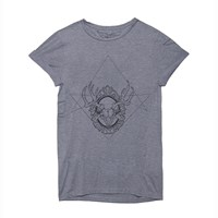 Roger And Owl Skull Grey