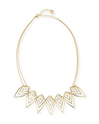 Jules Smith Designs Jules Smith Nature Two Strand Necklace Golden