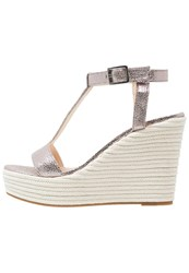 Unisa Marfa High Heeled Sandals Selenio Silver