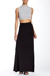 Loveappella Flare Maxi Skirt Black