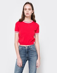 Which We Want Garance Top Red