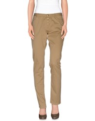 Marina Yachting Trousers Casual Trousers Women Sand
