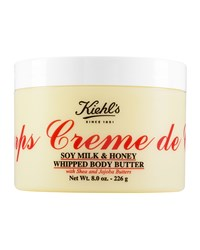 Creme De Corps Soy Milk And Honey Whipped Body Butter 8.0 Oz. Kiehl's Since 1851