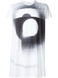 Julius Graphic Print T Shirt White
