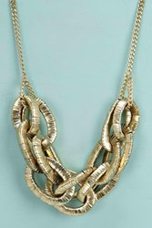 Boohoo Chunky Chain Necklace Gold
