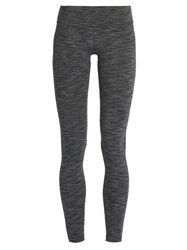 Outdoor Voices X A.P.C High Rise Performance Leggings Grey Multi