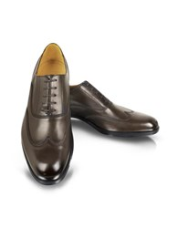 Moreschi Brunei Brown Leather Wingtip Oxford Shoes