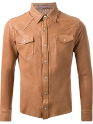 Guild Prime Lambskin Shirt Jacket Nude And Neutrals