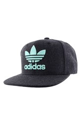 Adidas Men's Originals 'Trefoil Chain' Snapback Cap Blue Heather Navy Ice Green