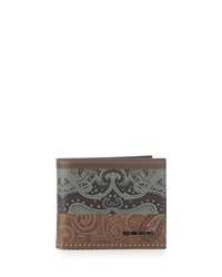 Etro Multi Pattern Bifold Wallet Multi