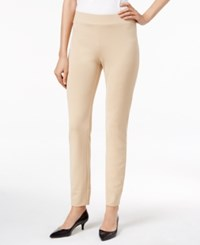 Eci Pull On Straight Leg Pants Khaki