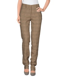 Mp Massimo Piombo Casual Pants Sand