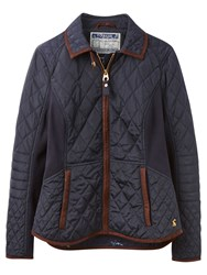 Joules Marchesa Slim Fit Quilted Jacket Marine Navy