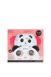 Topshop Panda Facial Cleansing Kit Monochrome