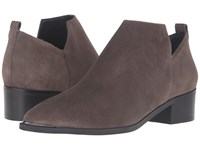 Marc Fisher Yamir Grey Suede Women's Shoes Gray