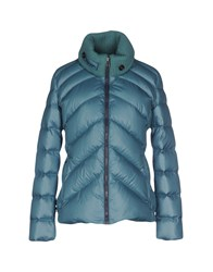 Napapijri Coats And Jackets Down Jackets Women Deep Jade